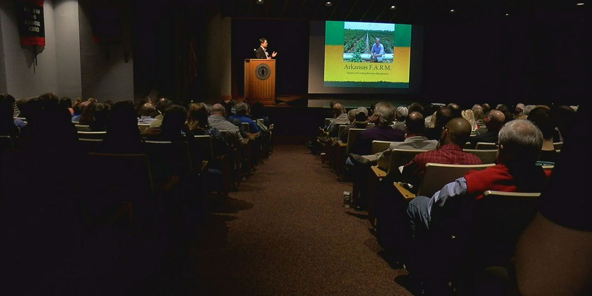 Researchers share latest information with Region 8 farmers