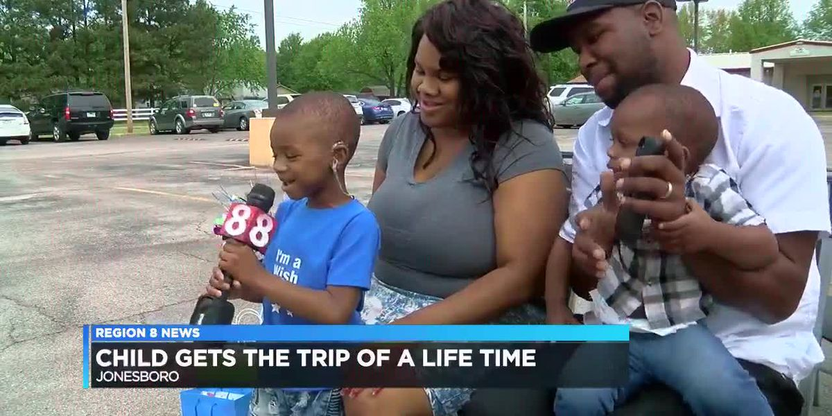 Child gets the trip of a lifetime thanks to Make-a-Wish