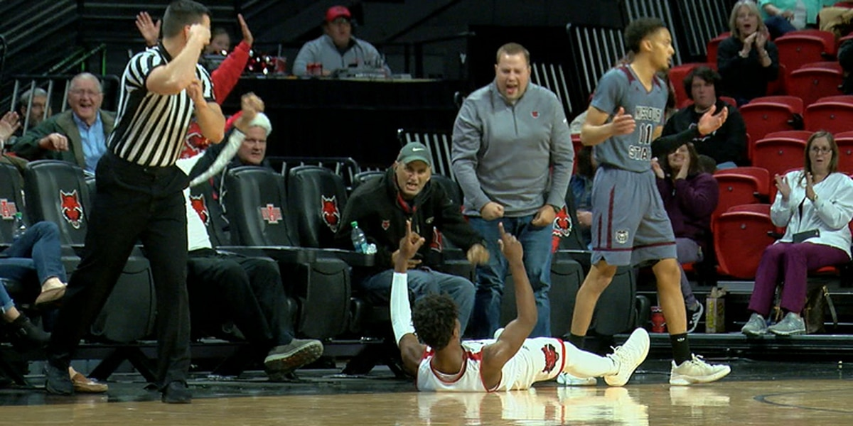 Gillard has 17 pts as Arkansas State beats Missouri State 71-63