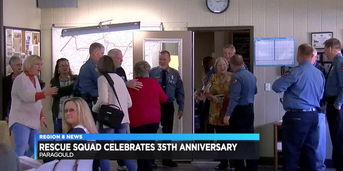 Rescue Squad celebrates 35th anniversary