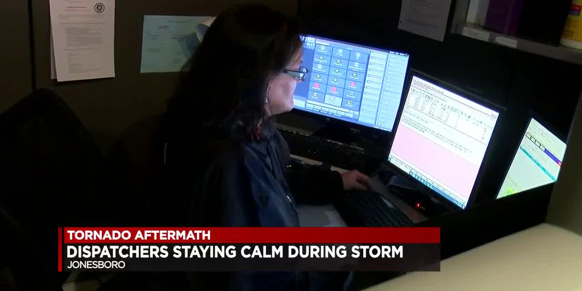 Dispatchers stay calm during tornado