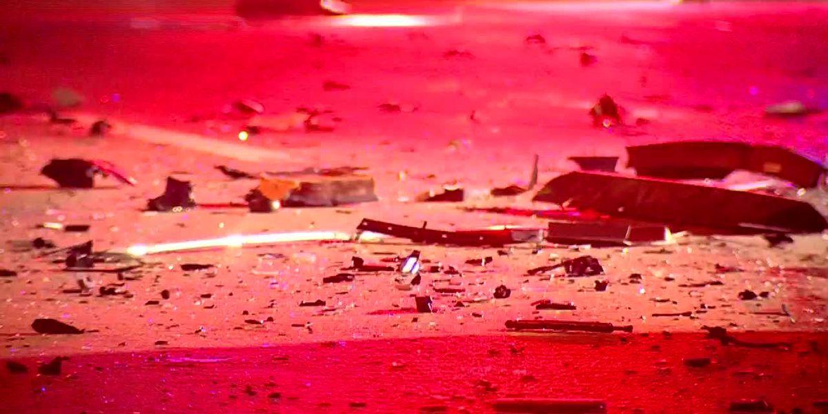 Salem man killed after van overturns