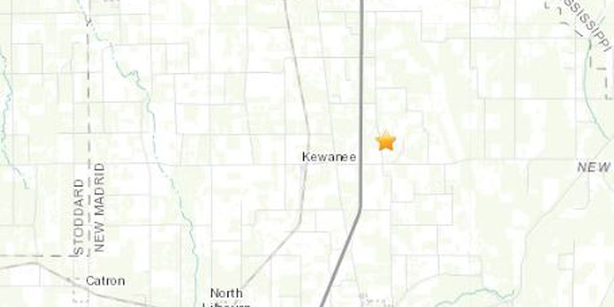 2.3 magnitude earthquake hits in southeast Mo.