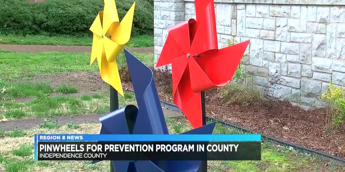 Pinwheels for Prevention program for Child Abuse Prevention Month