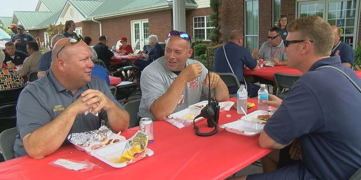 Business gives back to police, fire, and rescue crews