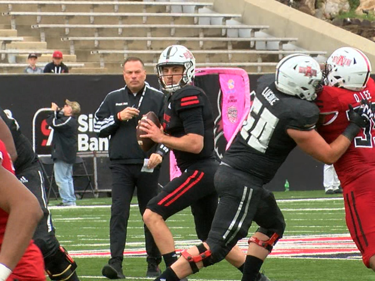 Gray beats Red in Arkansas State Pack Day Spring Game