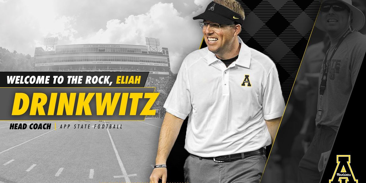 Former A-State assistant Eli Drinkwitz named Appalachian State head coach