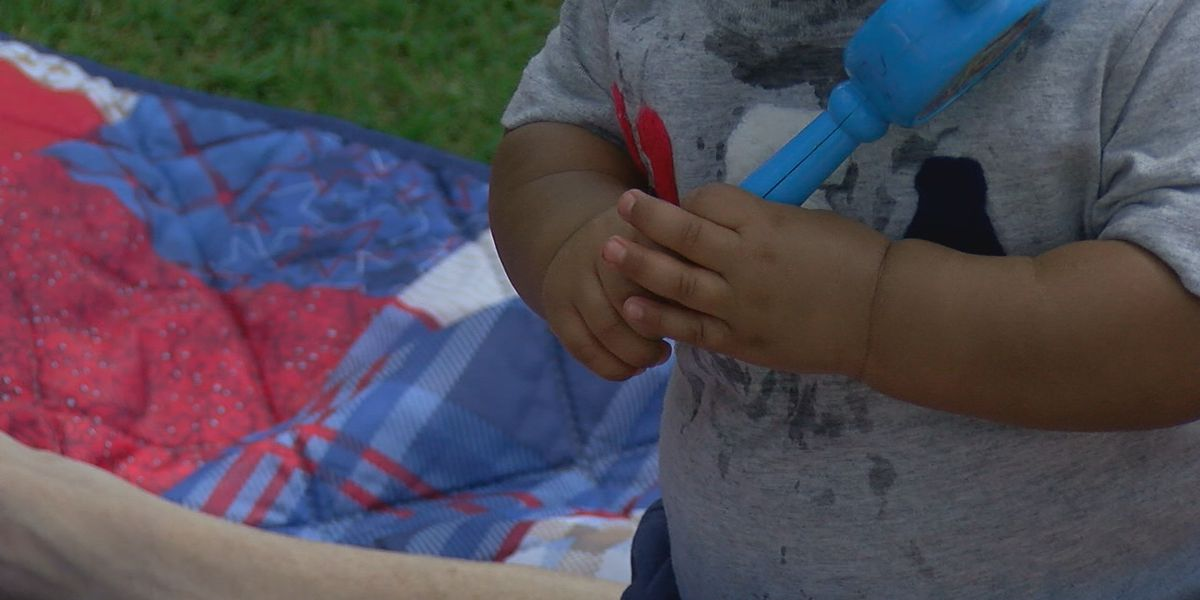 Cookout held to help create positive experience between law enforcement, foster kids
