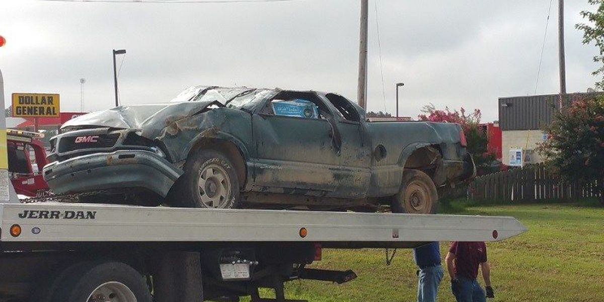 Minor injuries reported after vehicle goes airborne