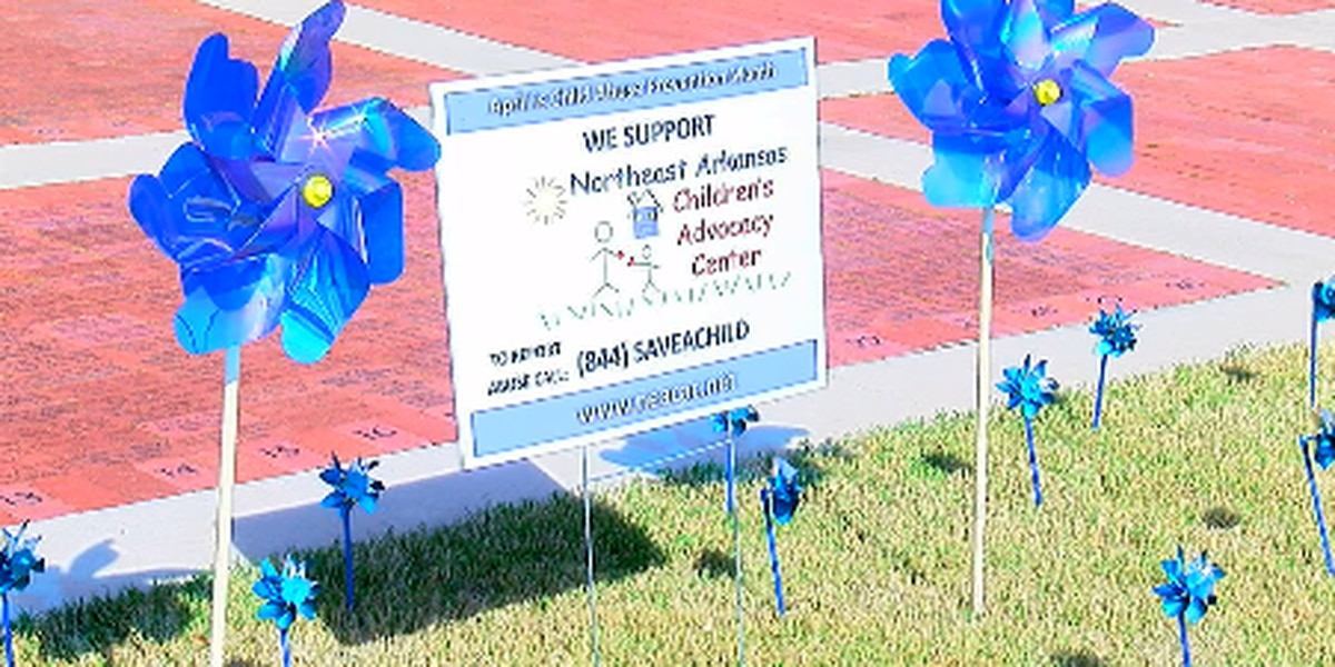 Pinwheel Ceremony supports kids who are victims of abuse
