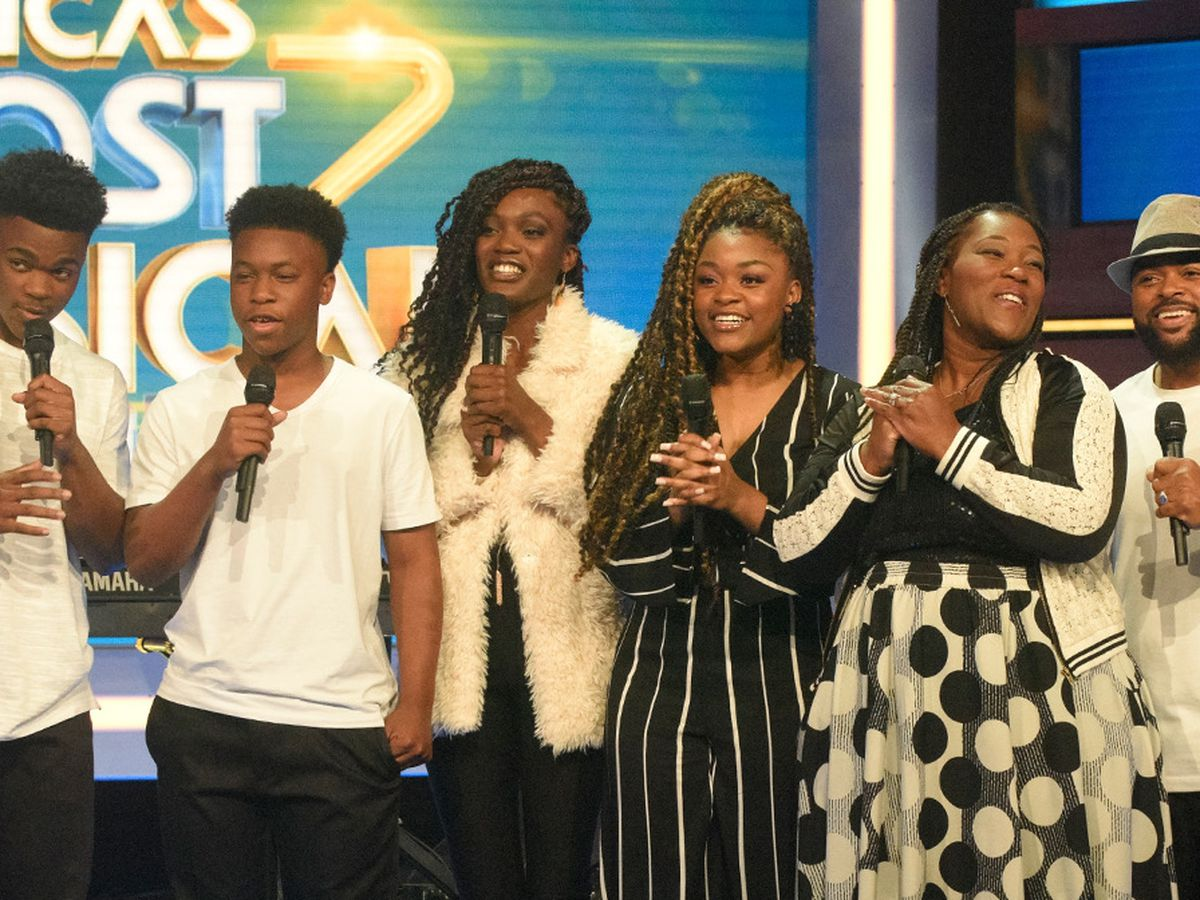 Run ends for Mathis family in finals of America's Most Musical Family