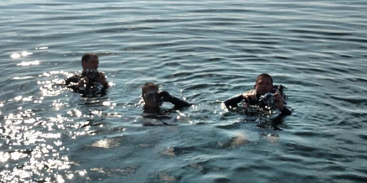 Deputies receive diver, sonar training