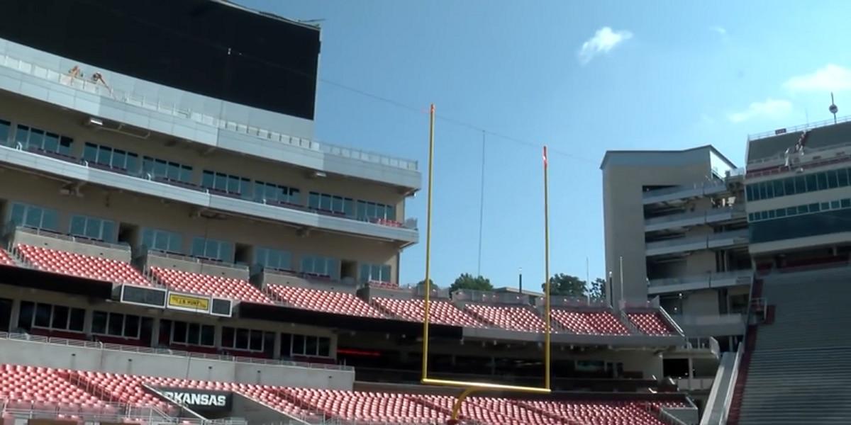 Reynolds Razorback Stadium upgrades finished in time for season opener