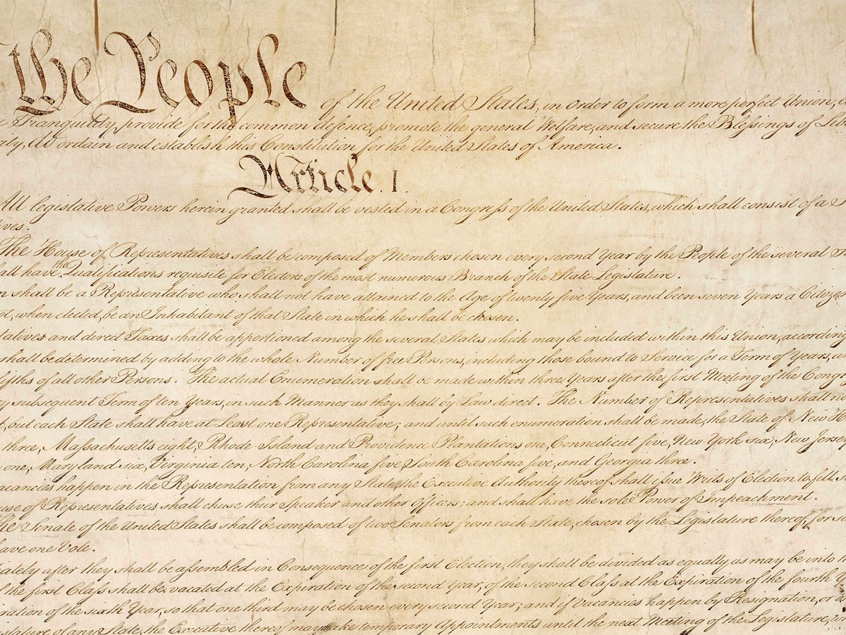 Sales of US Constitution topped 1 million during Trump years
