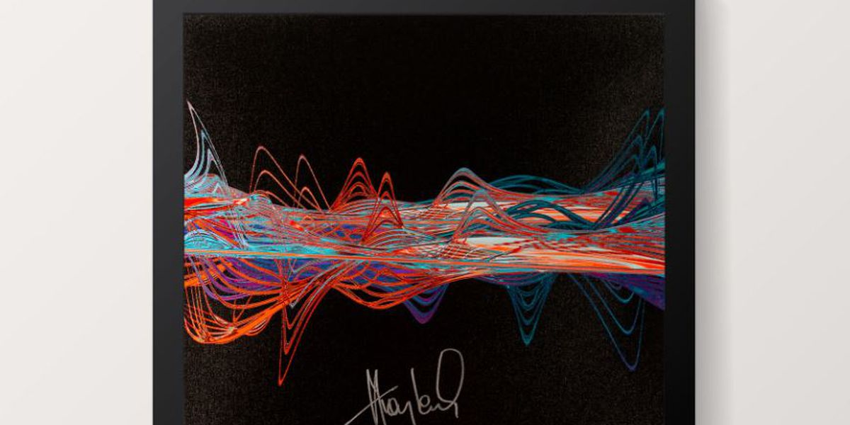 Pop icon Huey Lewis raising money for Stax Music Academy with art created from audio recording