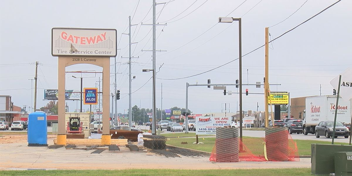 Gateway Tire to return to Caraway location by mid-2021