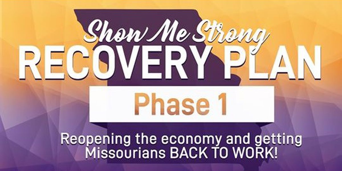 """Gov. Parson extends Phase 1 of Missouri's """"Show Me Strong Recovery"""" plan"""