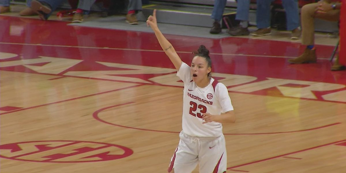 Arkansas women roll past Northwestern State 99-39