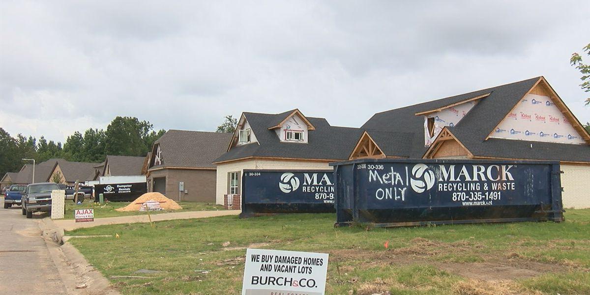 Bridger Place progressing just three months after Jonesboro tornado