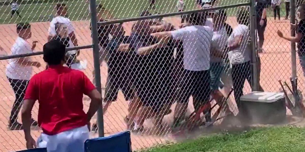 Brawl takes over field at youth baseball game in Colo.