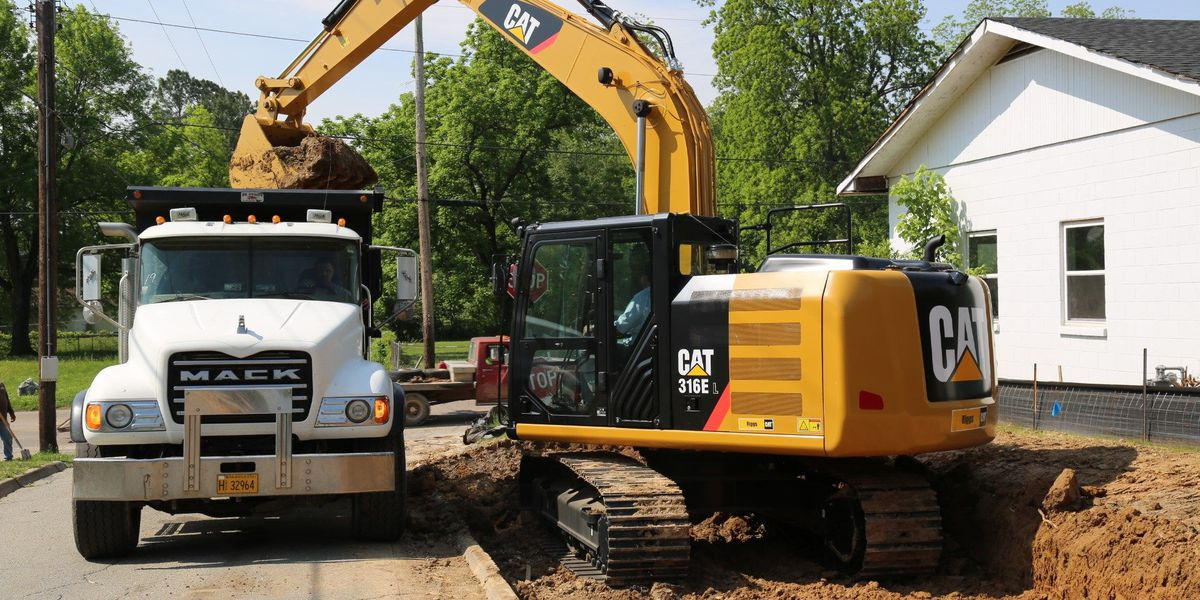 Patrick Street widening project started