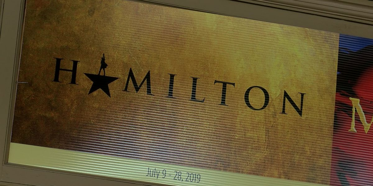 Orpheum says don't buy fake Hamilton tickets