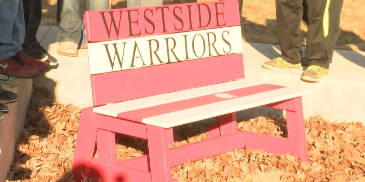Westside Middle School remembers student with buddy bench