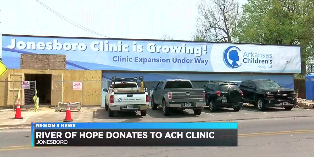 River of Hope, Rent One give donation to local Arkansas Children's Hospital clinic