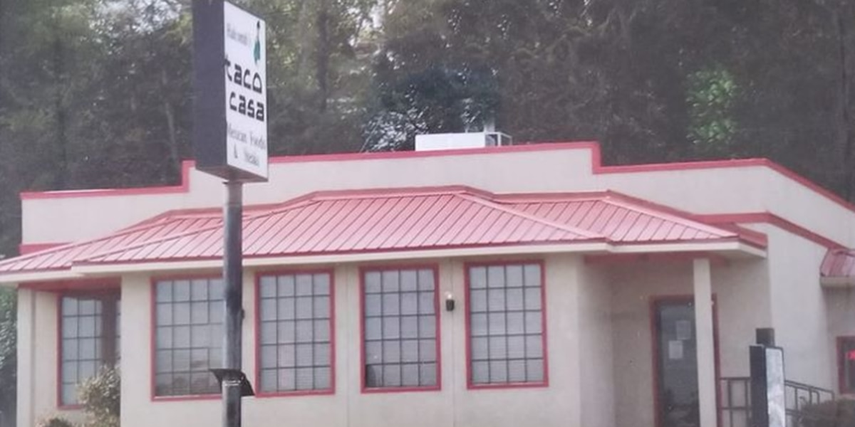 Halcomb's Taco Casa to close its dining room over face mask requirement issue