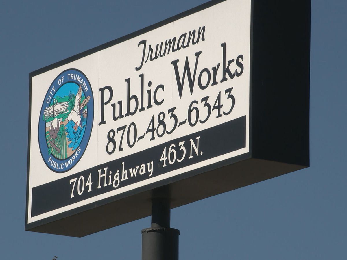 Trumann asks residents to conserve water