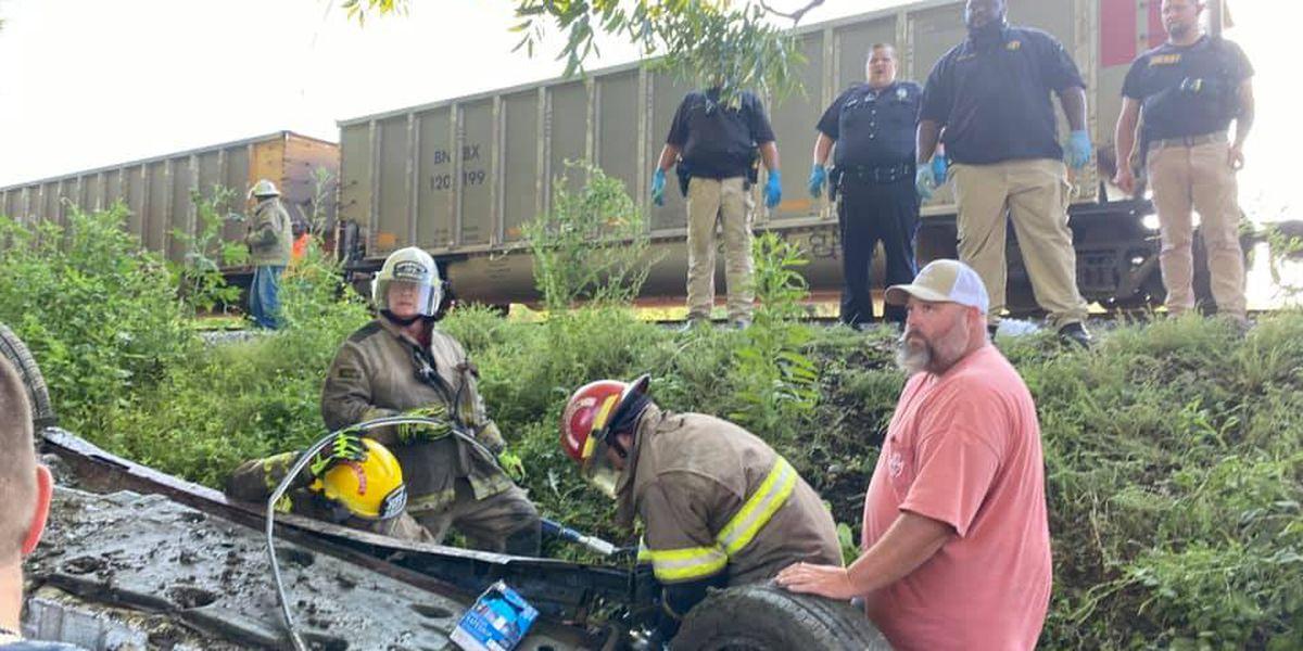 2 dead following train crash in Hayti