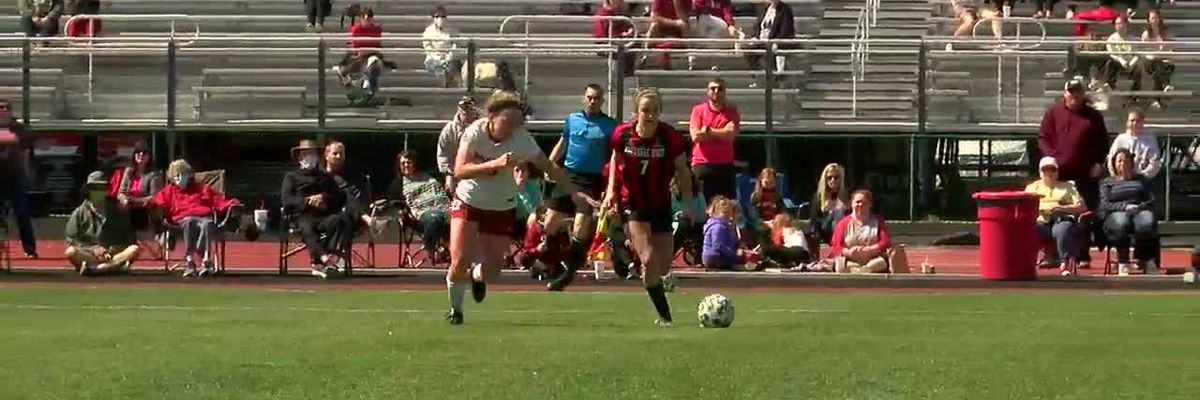 #18 Arkansas women's soccer beats Arkansas State 2-1 in historic matchup