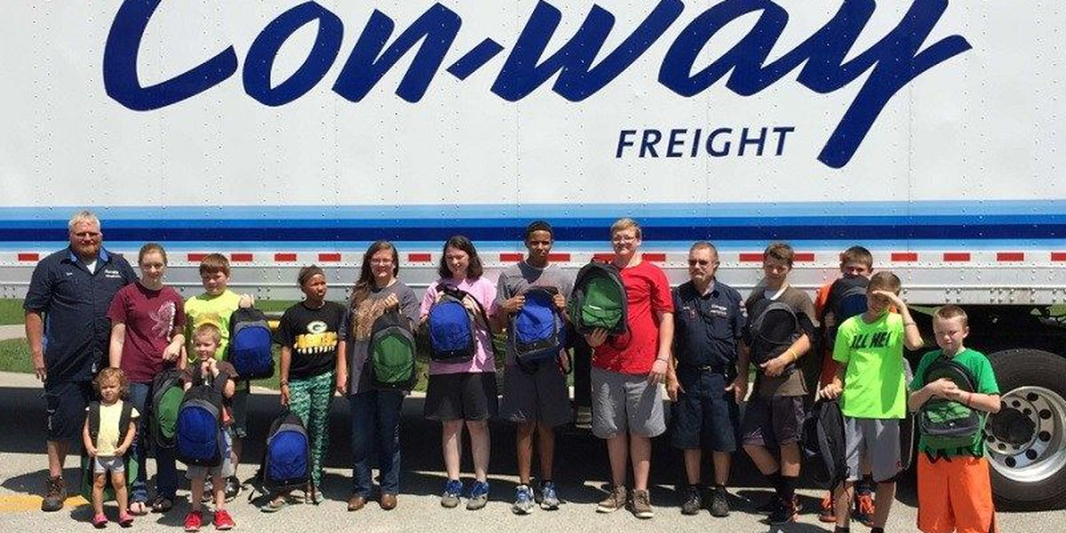 Jonesboro-based company gives backpacks to children's home