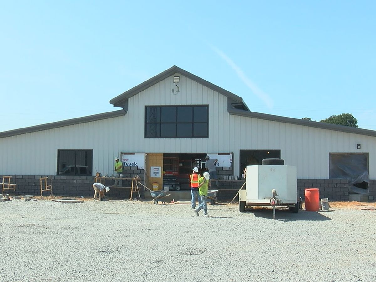 Pocahontas Municipal Airport re-construction nears completion