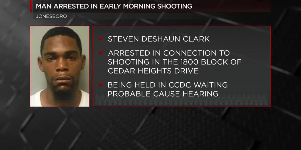 Man Arrested in Early Morning Shooting