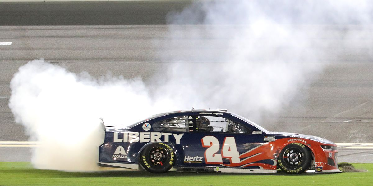 Byron wins at Daytona to reach Cup Series playoffs, knocks out Johnson