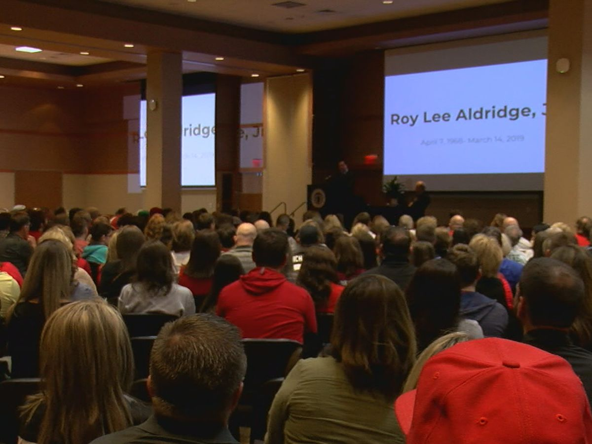 Family, friends celebrate life of Dr. Roy Lee Aldridge