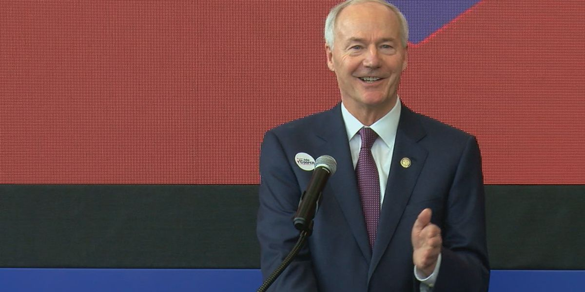 Governor Hutchinson backs candidate, addresses state issues