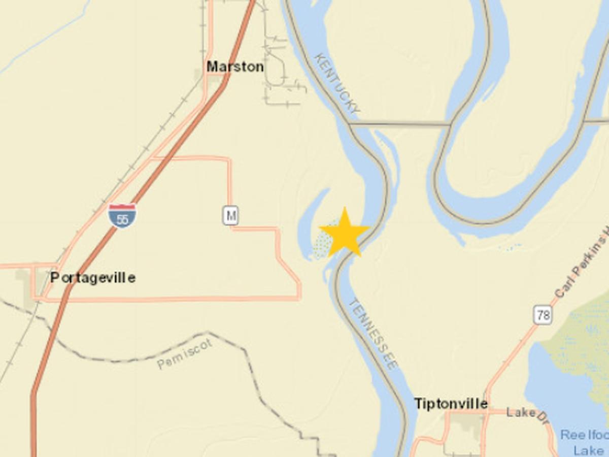 2.0 magnitude earthquake recorded near Marston, Mo.