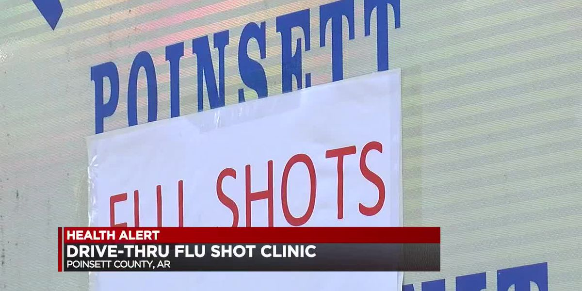 Poinsett County Health Department hosts week long drive-up flu shot clinic