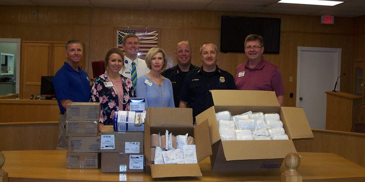 NEA Baptist Clinic donates life-saving supplies to Trumann PD