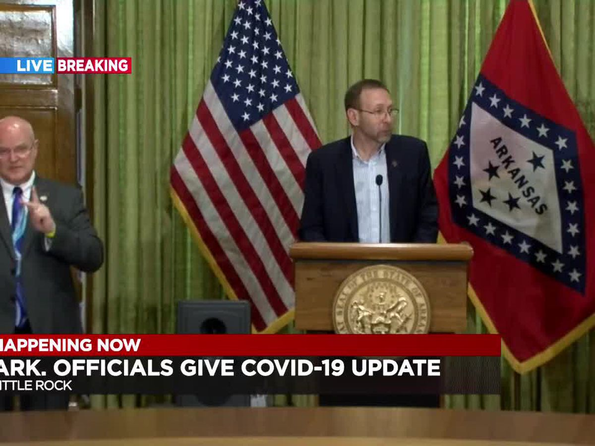 FULL BRIEFING: Gov. Hutchinson and Ark. Dept. of Health COVID-19 update - 4/5