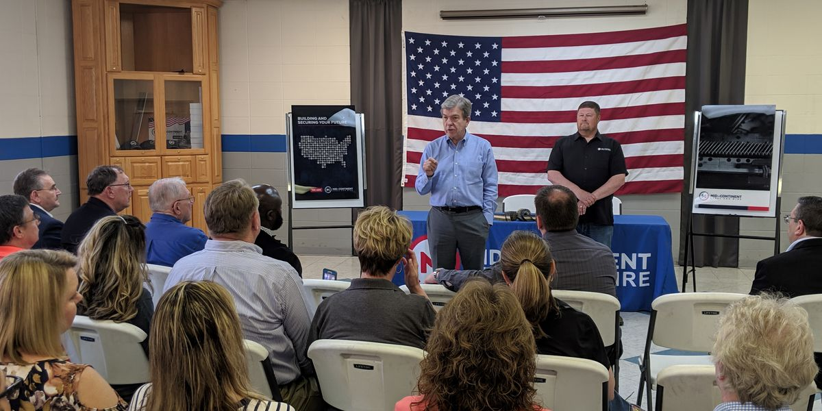 Sen. Roy Blunt visits Poplar Bluff, MO nail manufacturer approved for tariff exclusion