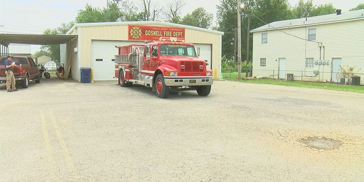 Business renovates Gosnell fire station