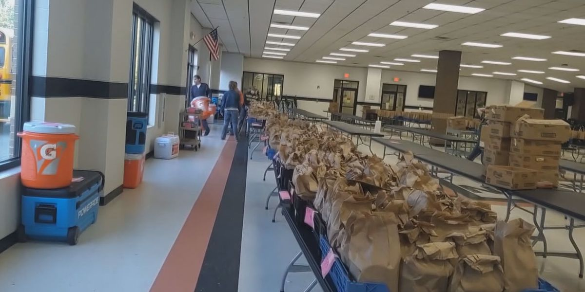 School district provides over 60,000 meals to students