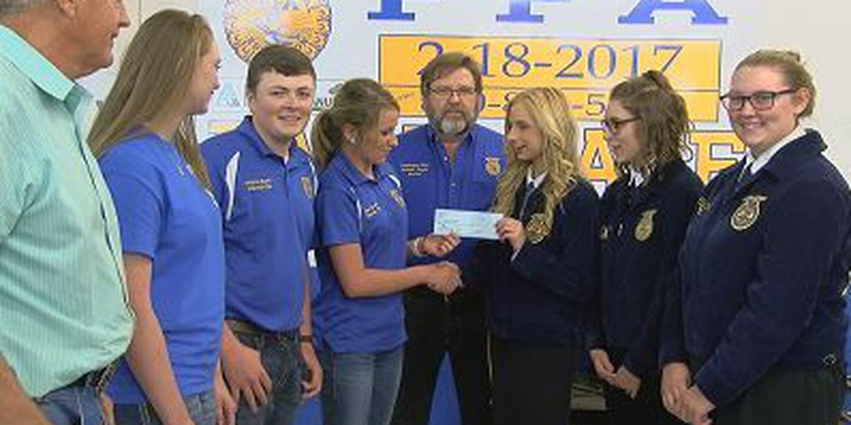FFA chapter works to help flood victims