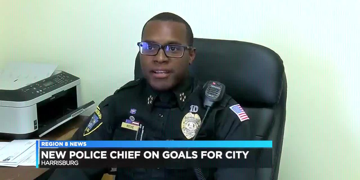 New Harrisburg Police Chief named