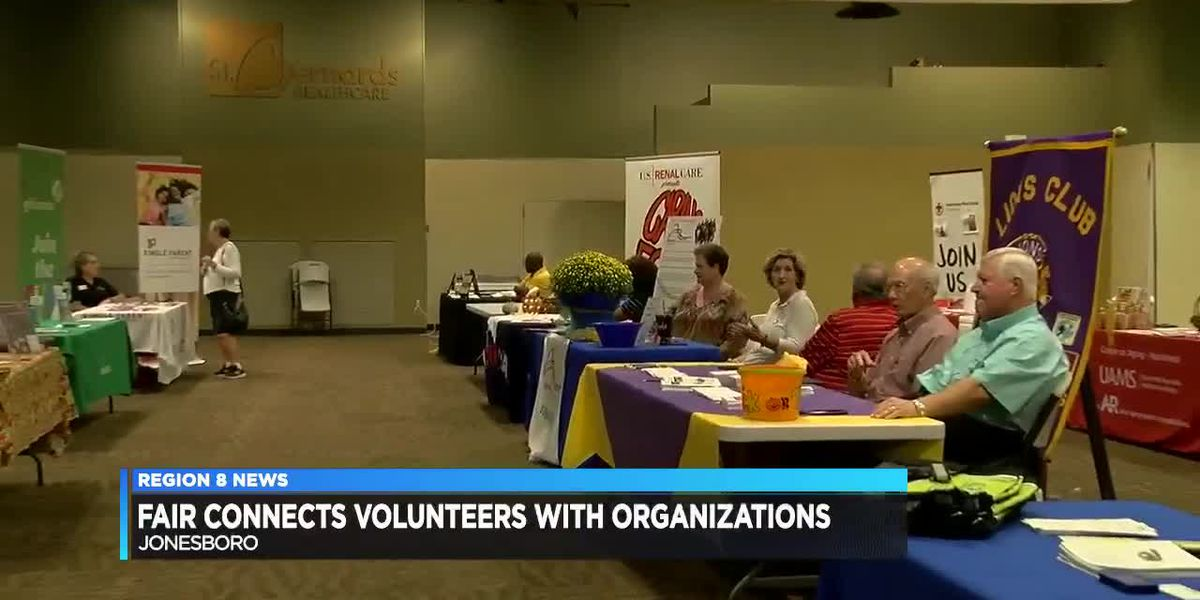 Community benefits fair connects volunteers with organizations