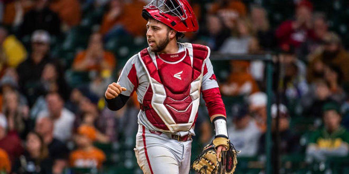 Arkansas catcher Casey Opitz named to SEC Community Service Team
