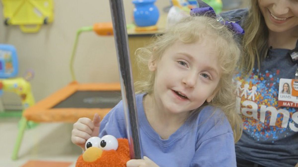 UCP SuperStar faces adversity with a smile